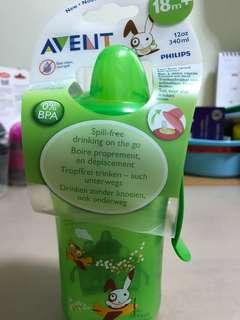 Philips 340ml Avent Fast Flow Spout Cup (Green)