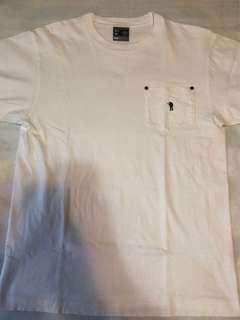 中古正版 A Bathing Ape Pocket T Shirt Size M Bape Tee