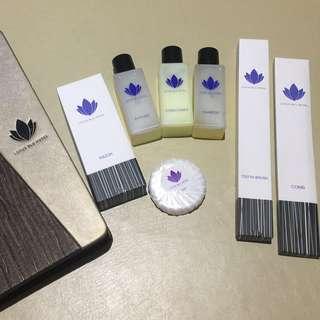Lotus Blu Travel Toiletry Set