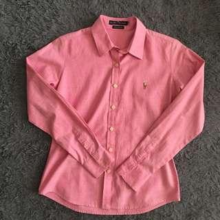 Polo Ralph Lauren Pink Shirt Woman