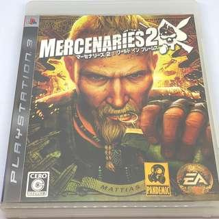 PS3 Mercenaries 2