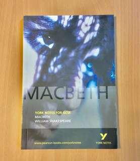 Macbeth York Notes for GCSE