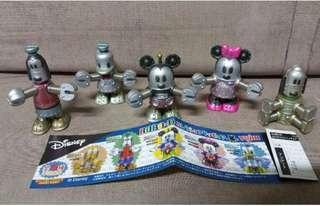 Disney 機械人扭蛋公仔