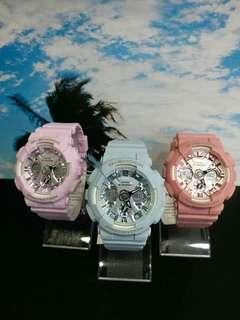 "GMA-S120DP-2A, GMA-S120DP-4A, GMA-S120DP-6A卡西歐品牌手錶""Casio""""G Shock""日本機芯一年保養"