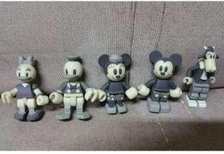 Disney 扭蛋公仔