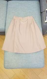 page boy 粉紅色半截裙