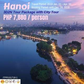 3D2N Hanoi Tour Package