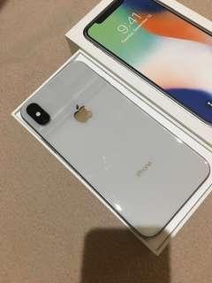 (Reprice) iPhone X 64 gb garansi panjang smp feb19 muluus