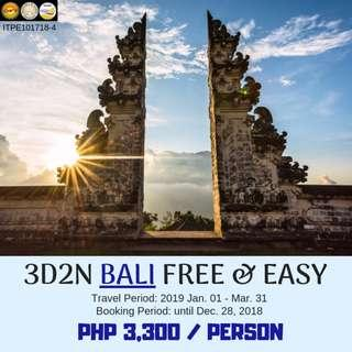 3D2N Bali Free and Easy