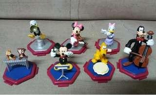 Disney 迪士尼演奏家系列扭蛋公仔(a)