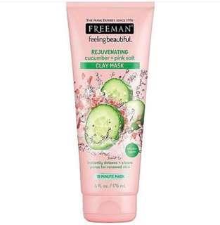 Freeman Cucumber + Pink Salt Rejuvenating Mask