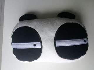 Panda Pillow for Headrest or Backrest