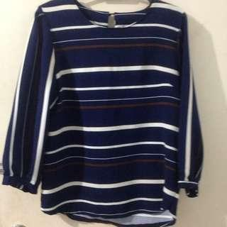 Striped Top (office)