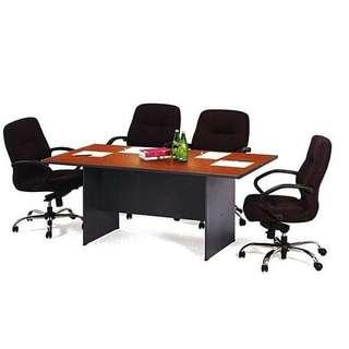 (Free Delivery) Meeting Table for 6 Person