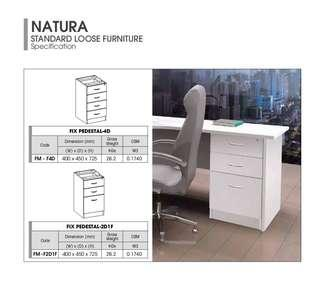 (Free Delivery) Fixed Pedestal 2D1F