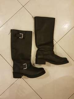 H&M Black high boots