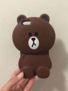 Line bear iphone 6 case
