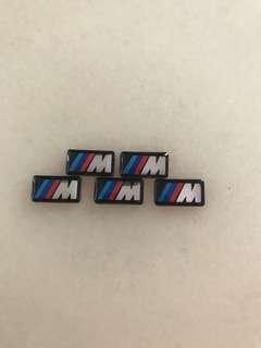 BMW M Sticker for rims and steering
