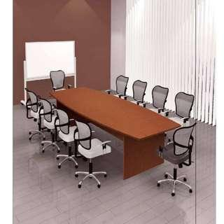 (Free Delivery) Meeting Table for 8 Person