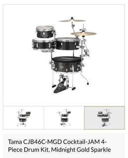 Tama Cocktail 4 Piece Kit Drum Set