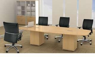 (Free Delivery) Conference Table for 10 Person
