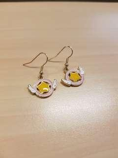 Cardcaptor sakura earrings