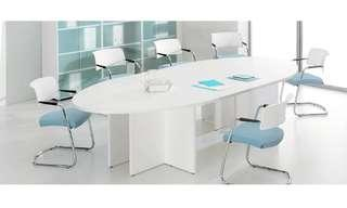 (Free Delivery) Meeting Table for 10 Person