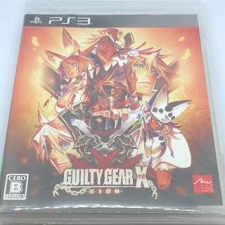PS3 Guilty Gear X