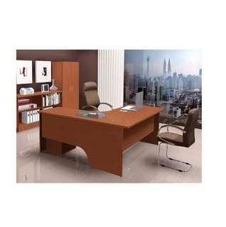 (Free Delivery) Executive L Shape Table