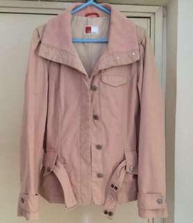 U2女裝粉色外套 Size:L碼