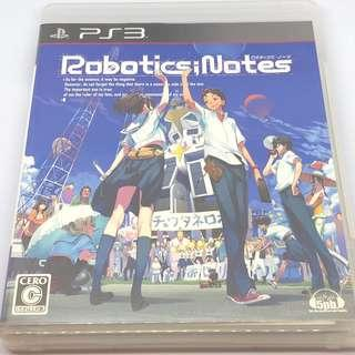 PS3 Robotics Notes