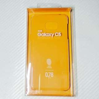 $4 Samsung 三星 C5 ON5 7原裝透明殼 手機套 手機殼 保護套 保護殼 電話套 電話殼 clear case cover