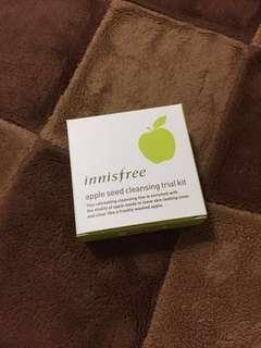 🚚 innisfree 蘋果籽深層潔顏組 小樣