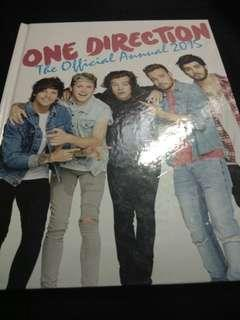 One Direction 1D Annual Book 2015