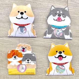 Shiba Sticker Flakes 🐶 (4 Designs)