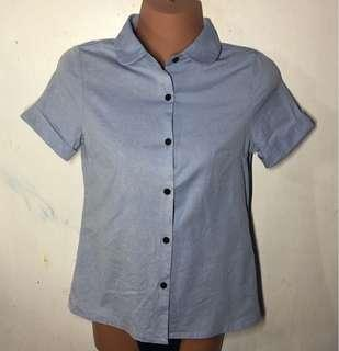 Pre loved Baby-blue Blouse
