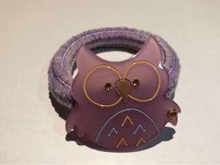 Alexandre de Paris chic & mode Owl pong hair hairband 貓頭鷹 髮飾 橡筋圈