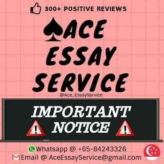 Attention ⛔                                                      Assignment Essay