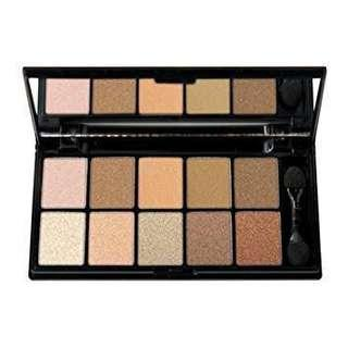 NYX 10 Color Eyeshadow Palette- 04 Catwalk