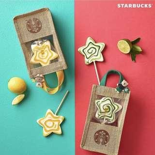 🍭 Limited edition Starbucks Korea Bearista Candy Bag