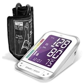 FDA Approved Blood Pressure Meter with Large Easy-to-Read Backlit LCD