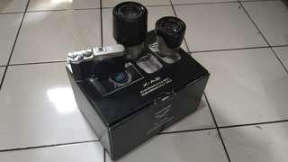 Fujifilm X-A2 Kit 16-50mm dan 50-230mm
