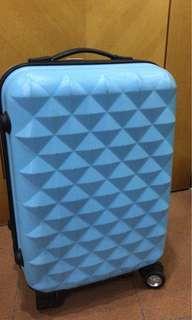 藍色小行李箱suitcase喼