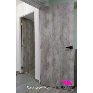 HDB BTO Solid Laminate Room Door