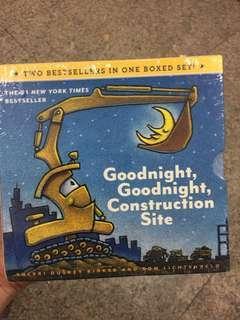 Brand new good night construction site set