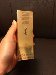 YSL All Hours Foundation #B10 Porcelain