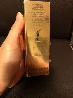 YSL All Hours Foundation # BR20 cool ivory