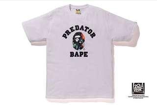 BAPE X Predator College Tee