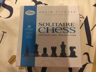 Thinkfun Brain Fitness Solitaire Chess BN sealed