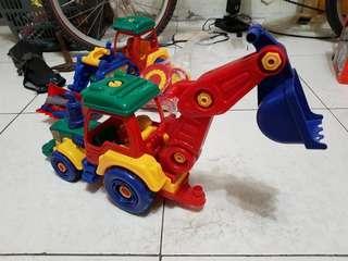 玩具挖土機